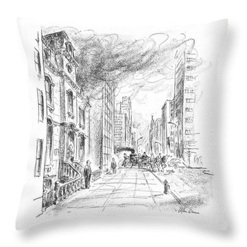 Leave It To The Landmarks Commission! They Think Throw Pillow