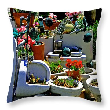 Leave The Seat Up Throw Pillow