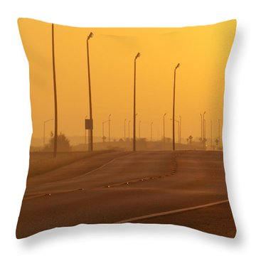Leave Well Enough Alone Throw Pillow by John Glass