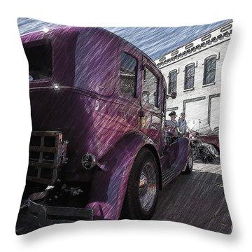 Leavenworth Kansas Throw Pillow by Liane Wright