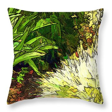 Leaves Are Turning Throw Pillow