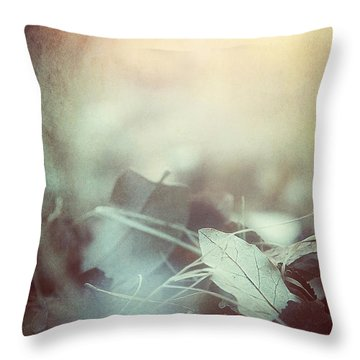 Leaves Of Time  Throw Pillow