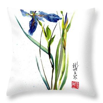 Leaving Zen Throw Pillow