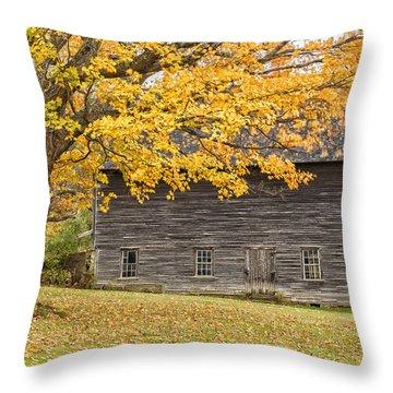 Leavitt's Barn Throw Pillow