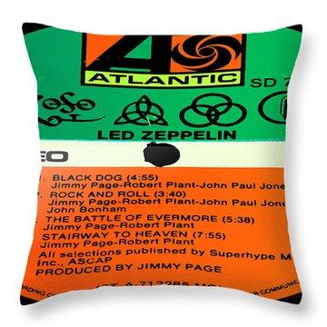 Led Zeppelin Iv Side 1 Throw Pillow