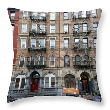 Led Zeppelin Physical Graffiti Building Throw Pillow
