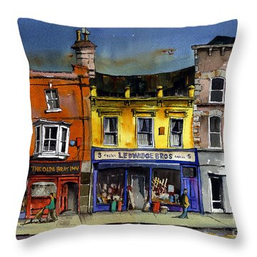 Ledwidges One Stop Shop Bray Throw Pillow