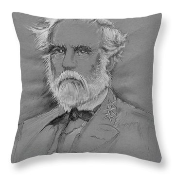 Lee's Battle-blood Up Throw Pillow