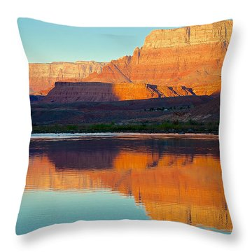 Lee's Ferry Throw Pillow