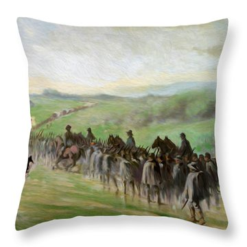 Lees Retreat Throw Pillow