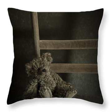 Left Behind Throw Pillow by Amy Weiss