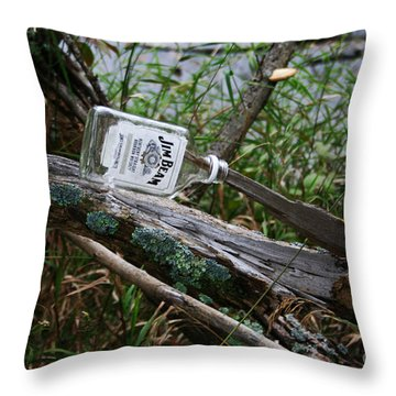 Left Behind Throw Pillow by Jamie Lynn