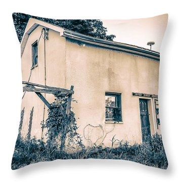 Throw Pillow featuring the photograph Left Behind by Michaela Preston