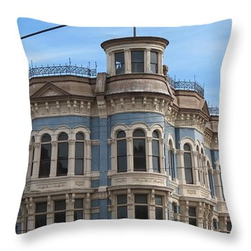 Left In Time Throw Pillow