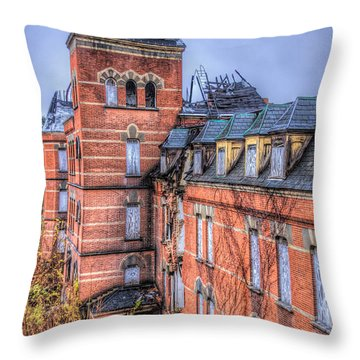 Left Standing  Throw Pillow