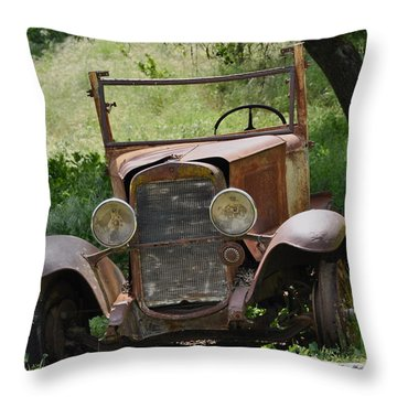Left To Die Throw Pillow