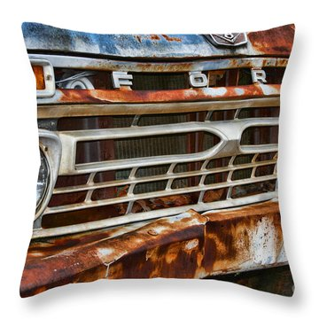 Left To Rust By Diana Sainz Throw Pillow