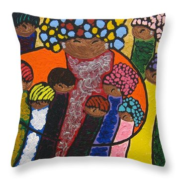 Legacies Throw Pillow by Clarissa Burton