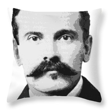 Legend Doc Holliday Throw Pillow