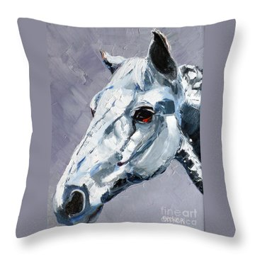 Legend - Sport Horse Throw Pillow