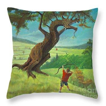 Legendary Archer Throw Pillow