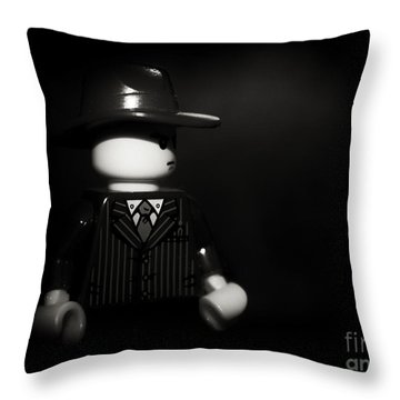 Lego Film Noir 1 Throw Pillow by Cinema Photography