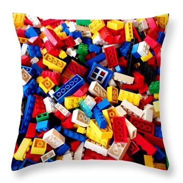 Lego - From 4 To 99 Throw Pillow