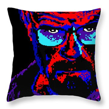 Lego Walter White Throw Pillow