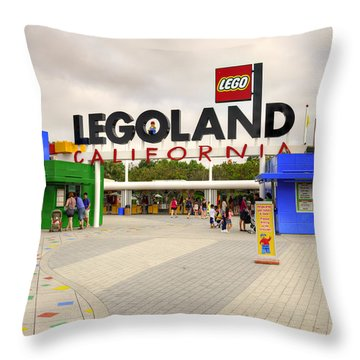 Legoland California Throw Pillow