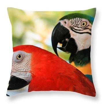 Lele Throw Pillow by Sharon Mau