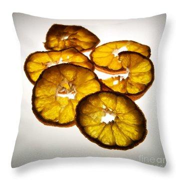 Lemon Throw Pillow by Bernard Jaubert