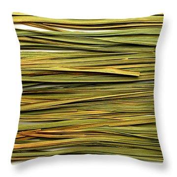 Throw Pillow featuring the photograph Lemon Verbena by Fabrizio Troiani