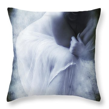 Lena Throw Pillow by Svetlana Sewell