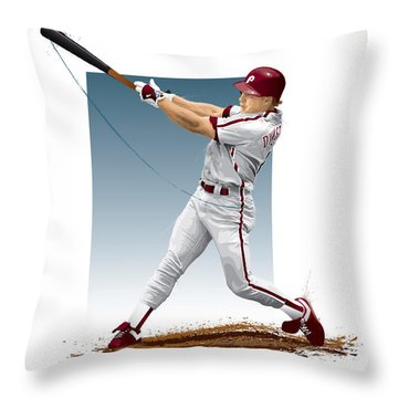 Lenny Dykstra Throw Pillow