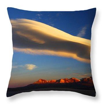 Lenticular Magic Throw Pillow by James Brunker