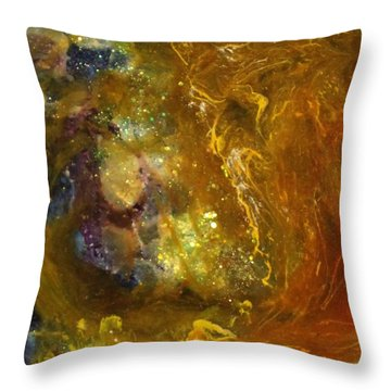 Leo121 Throw Pillow by Kathleen Fowler