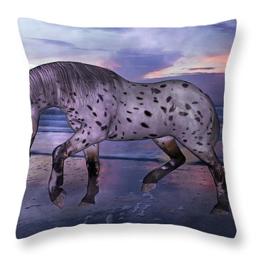 Leopard Appaloosa Throw Pillow
