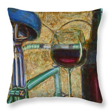 L'eroica Bianchi Chianti Throw Pillow