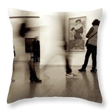 Les Fantasmes De Pompidou Throw Pillow
