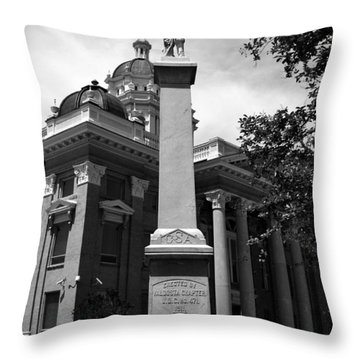 Lest We Forget Throw Pillow by David Lee Thompson
