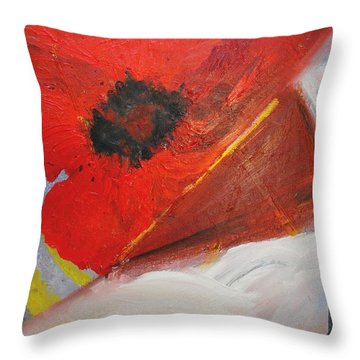 Ode Of Remembrance Throw Pillow by Evelina Popilian