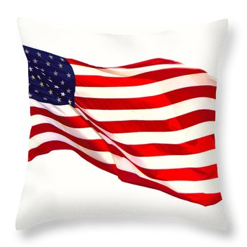 Let Freedom Reign Throw Pillow