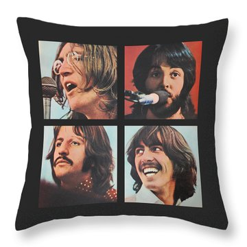 Let It Be Throw Pillow by Gina Dsgn