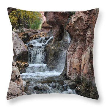 Let It Fall Throw Pillow
