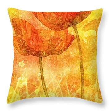 Let Me Love You Throw Pillow