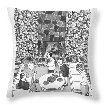 Let Opec Tighten The Screws. The Larned A. Corys Throw Pillow
