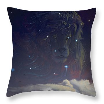 Let The Wind Blow Throw Pillow by Cliff Hawley