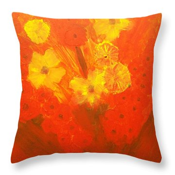 Let Them Have Tomorrow Throw Pillow by Laurette Escobar