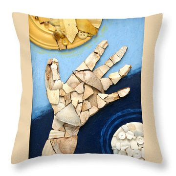 Let There Be Light Throw Pillow