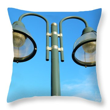 Throw Pillow featuring the photograph Let There Be Light by Emmy Marie Vickers